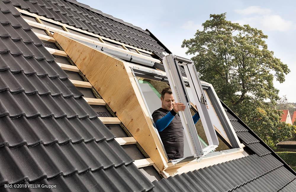 Bevorzugt Dachfenster von VELUX einbauen und montieren in Odenthal bei OW56